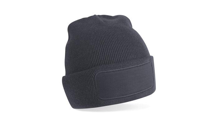 Mütze grau – selber gestalten