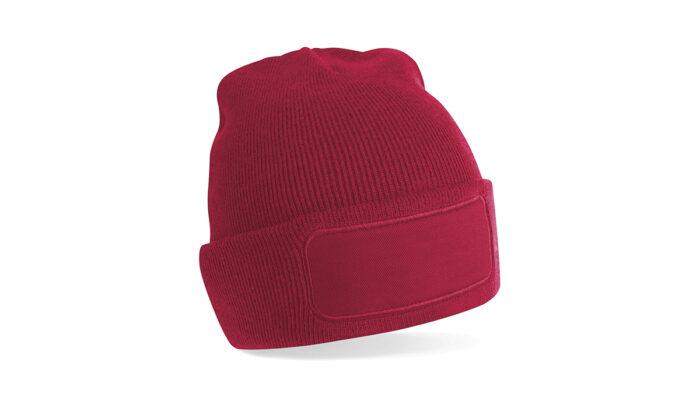 Mütze rot – selber gestalten