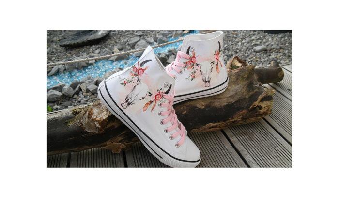 Schuhe – Boho Skull Gr.41